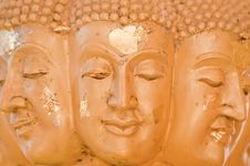 Free Buddha Many Face Close-up Stock Photo - 17485890