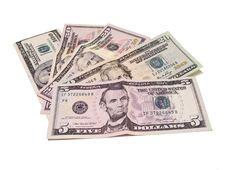 Free American Dollar Bills Royalty Free Stock Images - 17486169