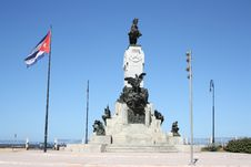Free Antonio Maceo Monument Royalty Free Stock Images - 17486529