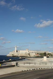 Free Morro Castle, Havana, Cuba V2 Royalty Free Stock Photos - 17486658