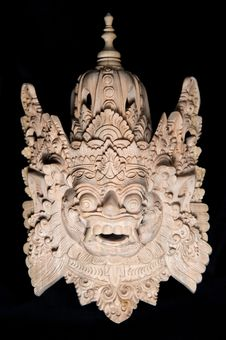 Free Traditional Balinese Mask Stock Photos - 17487173