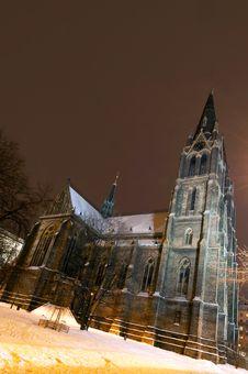Free Saint Ludmila Church, Prague, Czech Republic Stock Images - 17487284