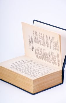 Free Open Book Stock Image - 17488421
