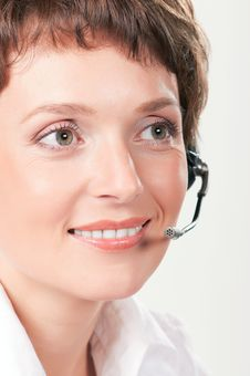 Free Support Phone Operator Royalty Free Stock Images - 17488719
