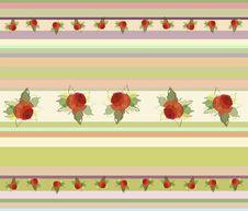 Free Seamless Background. Rose. Royalty Free Stock Photo - 17489805