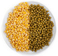 Free Corn And Peas Royalty Free Stock Images - 17492559