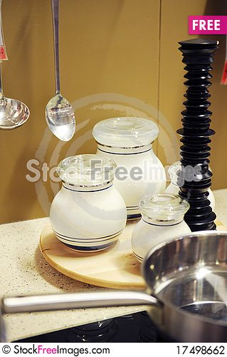 Free Kitchen Utensils Stock Photography - 17498662
