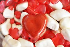 Free Red Heart Shape Royalty Free Stock Image - 17490276