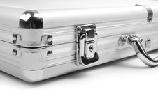 Free Silver Briefcase Royalty Free Stock Image - 17490906