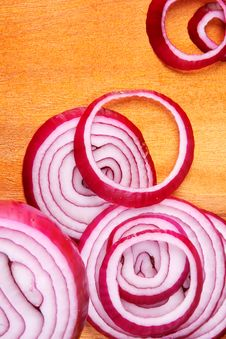 Free Red Onion Stock Photography - 17491822