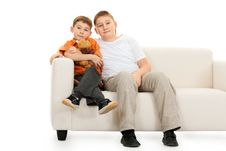 Free Two Brothers Royalty Free Stock Photography - 17492607