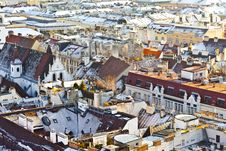 Free View Over Vienna In Snow Royalty Free Stock Photo - 17492645