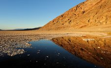 Free Pond At Badwater Royalty Free Stock Images - 17493149