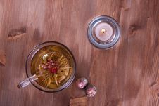 Free Cup Of Green Tea Stock Photo - 17493170