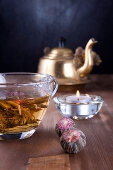 Free Cup Of Green Tea Stock Photography - 17493172