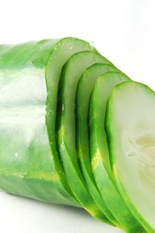 Free The Cut Cucumber Stock Photos - 17493313