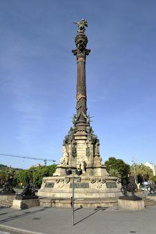 Free Christopher Columbus Column Stock Image - 17493861