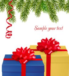 Free Collection Of Chrismas Objects. Stock Photo - 17494070
