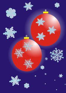 Free New Year S Spheres Stock Photos - 17494083
