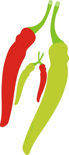Free Hot Pepper Stock Photography - 17494102