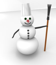 Free Snowman Stock Photos - 17494493