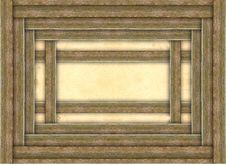 Free Wooden Photo Frame Stock Image - 17494541