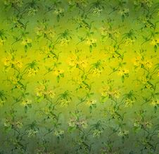 Decorative Floral Background Stock Photography