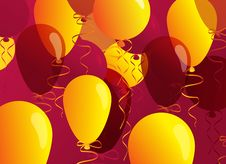 Free Celebratory Balloons Stock Photography - 17494662