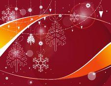 Free Christmas Frame Stock Photography - 17494702