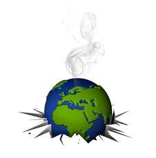 Free Global Warning Royalty Free Stock Photo - 17495145