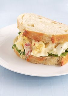 Free Egg Sandwich Stock Images - 17495604