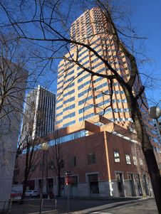 Free The Koin Tower, Portland Oregon. Royalty Free Stock Images - 17495649