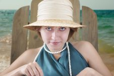 Free Lady In Hat Stock Image - 17496101