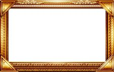 Free Monogram Photo Frame Royalty Free Stock Photo - 17496865