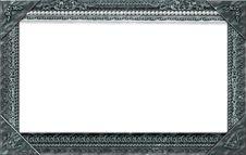 Free Monogram Photo Frame Royalty Free Stock Image - 17496876