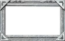 Free Monogram Photo Frame Royalty Free Stock Photos - 17496888