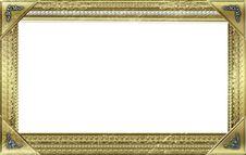 Free Monogram Photo Frame Stock Image - 17496891