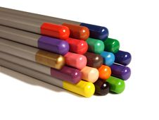 Free Colored Pencils Royalty Free Stock Photography - 17497117