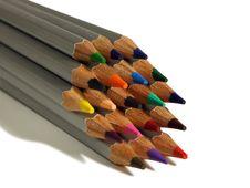 Free Colored Pencils Stock Photo - 17497120