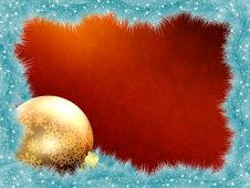 Elegant Christmas Card. EPS 8 Royalty Free Stock Photo