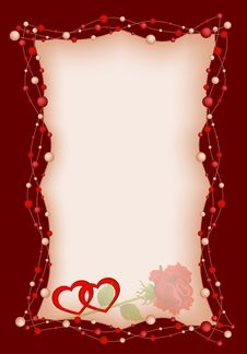 Free Background By The Valentine S Day Royalty Free Stock Photos - 17497418