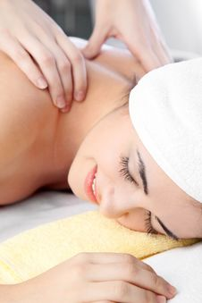 Free Woman In Spa Stock Image - 17497581