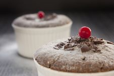 Free Chocolate Souffle Stock Photos - 17497703