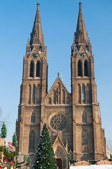 Free Saint Ludmila Church, Prague, Czech Republic Royalty Free Stock Photography - 17497837
