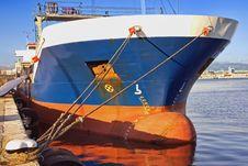 Free Cargo Ship Royalty Free Stock Image - 17498106