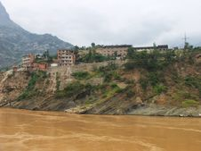 A City On The Yangtze River Royalty Free Stock Photography