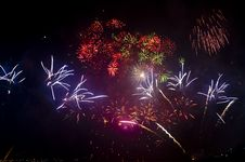 Spectacular Fireworks Royalty Free Stock Image