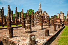 Free The Sukkothai Historical Park Stock Image - 17499181
