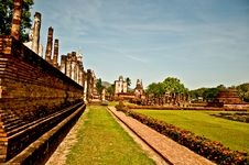 Free The Sukkothai Historical Park Stock Image - 17499241