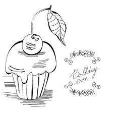 Free Birthday Cake Royalty Free Stock Image - 17499276